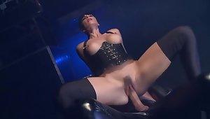 Crazy pornstar Mishka Devlin in best threesome, spanking porn movie