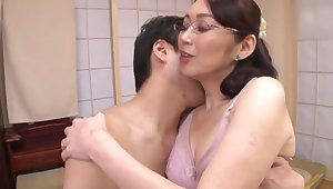 Adult Japanese fucked by measure laddie in strong modes