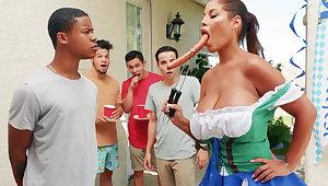 Hardest Oktoberfest organize sexual relations for drunk wife