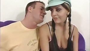 Hot busty MILF amazing amateur porn video