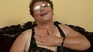 This granny is an terrifying woman and she loves upon get fucked by younger men