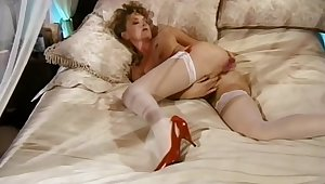 Hairy Housewife Home Deprecate Boxing-match While Alone
