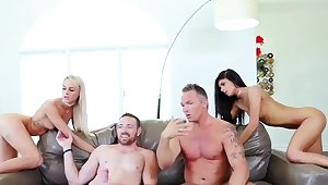 chum's daughter catches husband fucking her mom The