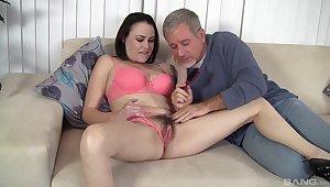 Venerable man wants babe's perishable cunt for hardcore pleasures