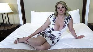 Big nuisance and titties blonde MILF