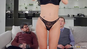 Naughty Wife Jasmine Jae Sleeps With Her BF's Best Friend