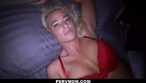 Hot Stepmom London River Invites Stepson In The Bathroom For Some Fun - Pornstar