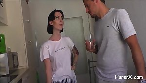 Mein Mann leckt das Sperma von meinem Paramour!!