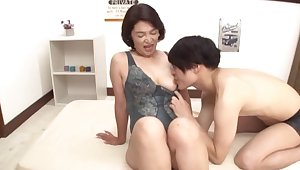 Passionate fucking in the matter of the niche with horny Japanese Kitamura Toshiyo